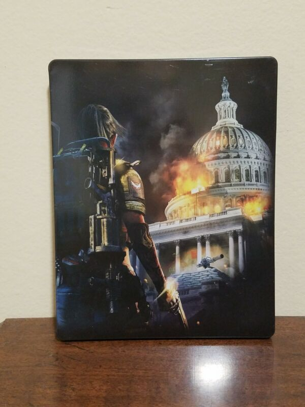 Tom Clancy The Division 2 Steelbook Case only XB1 PS4 *No Game Disc Included*