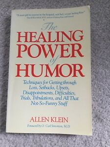 Book-The Healing Power of Humor by Allen Klein