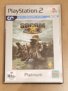 Socom us navy seals ps2 complete good cond. Plat. Geelong Geelong City Preview