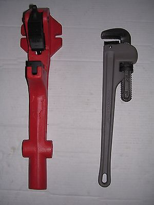New Foot Wrench Pipe Wrench 1-14-2 Ridgid 300 700 141 161 Pipe Threader 811