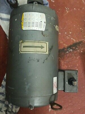 New Baldor 15 Hp Ac 3 Phase Motor 254t Frame 1760 And 3464 Rpm Tefc Nos