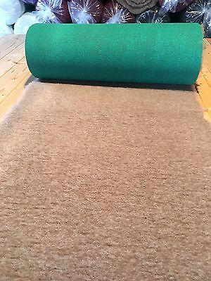 """Mink Vet Bed Dog Fleece Roll 300cm x 50cm - 118"""" x 20""""  Green Backing"""