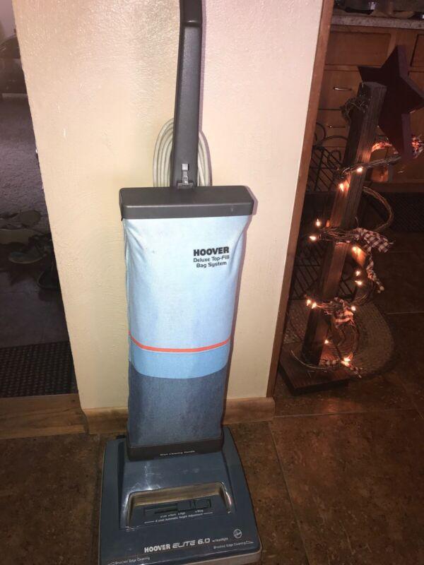 Vintage Hoover Elite 6.0 Vacuum Cleaner - Model U4485 - Tested Working