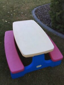 Little Tikes large size picnic table