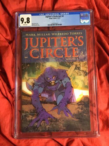 CGC 9.8~JUPITER'S CIRCLE #2~BILL SIENKIEWICZ COVER~NEW NETFLIX TV SHOW~LEGACY
