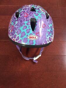 Casque de vélo - trottinette Bell pour petite fille