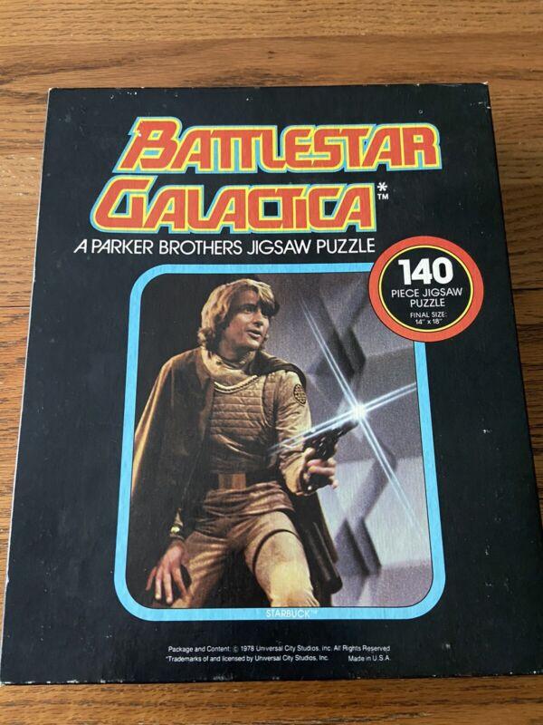 Battlestar Galactica Vintage Puzzle 1978 Parker Brothers Complete