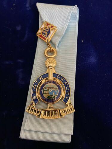 Knights of Columbus - State Deputy Working Jewel - Alaska