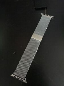 42mm Apple Watch magnetic mesh loop strap