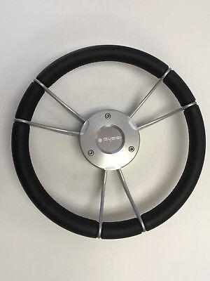 New Oem Gussi Boat Steering Wheel M930 Gray Hub   Spokes