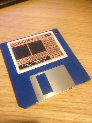 D-COPY 3.1 FOR COMMODORE AMIGA - TESTED & WORKING; REFURBISHED, RE-LABELLED DISK