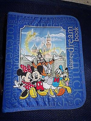 (Disney Dream Book Memory Keeper Autograph Exclusive Trading Pin Photo Album)