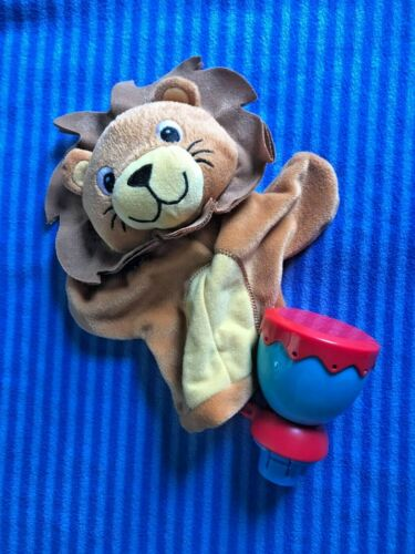 Baby Einstein Around the World Exersaucer Lion Puppet Toy  Replacement Part