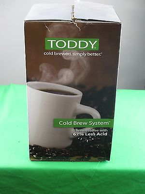 NEW - Toddy coffee maker with filters T2N Cold Brew System - FREE SHIPPING!!!