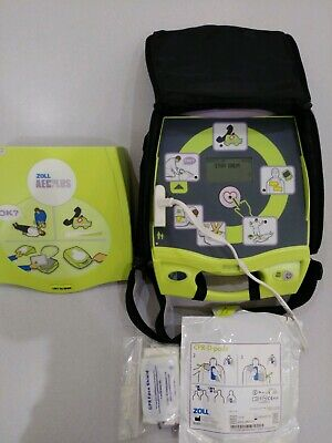 Zoll Aed Plus W 3 Yr Warrantycarrying Case New Pads And Batteries