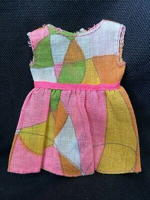 RARE Vintage Barbie Sister SKIPPER Mod Clothes PAK Outfit SKIMMER & Scarf DRESS
