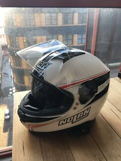 NOLAN N87 Helmet - AS NEW - White Size Small - RRP $379