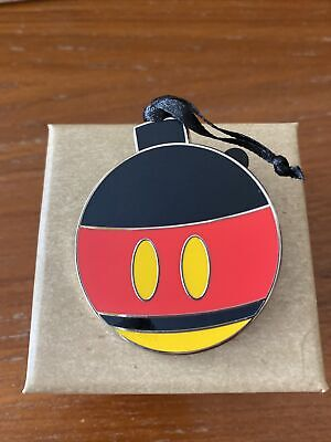 Disney Parks 2020 Advent Calendar Christmas Ornament LR Pin Mickey Mouse