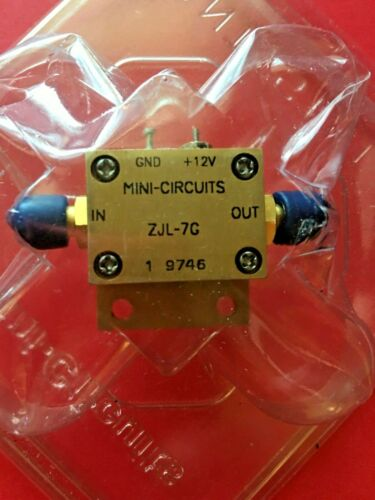 Mini-Circuits ZJL-7G 20 to 7000 MHZ 7 GHz RF Broadband Coaxial Amplifier