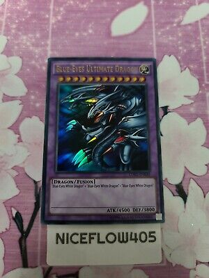 Blue-Eyes Ultimate Dragon Ultra Rare LDK2-ENK40 Yu-Gi-Oh