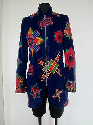 Vintage GIANNI VERSACE VERSUS Long Blazer Jacket - Made in Italy