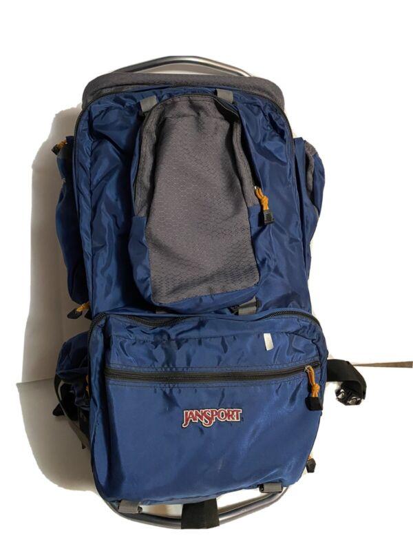 Jansport Rainier Tall External Frame Backpack Hip Wings Shoulder Waist Straps