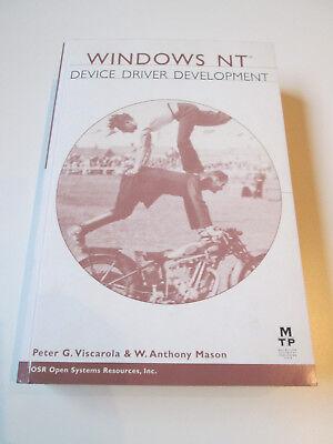 Buch - Windows NT Device Driver Development; ISBN: 1578700582 ()