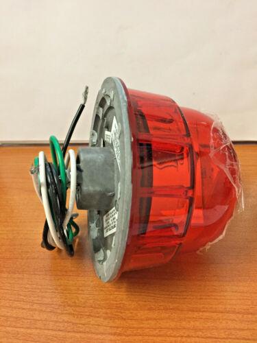 Dialight Corporation Obstruction Light, Red, Retro, 120/240 Vac RTO1R07004