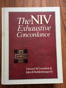 The NIV Exhaustive Concordance