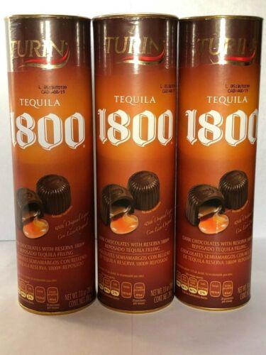 TURIN PREMIUM LIQUOR FILLED CHOCOLATES TEQUILA 1800