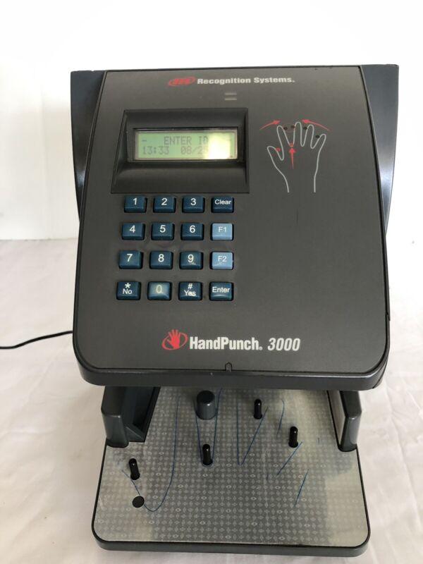 SCHLAGE HANDPUNCH 3000 INGERSOLL RAND HP-3000