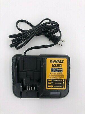 DEWALT DCB112 12 and 20 Volt  Battery Charger NEW