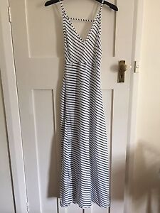 Vintage shop striped dress - size 8 Coogee Eastern Suburbs Preview