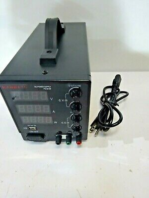 Dc Power Supply Variable 30v 10a Kaiweets 4-digit Large Display