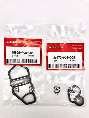 Fits Honda Si B16A2 GSR B18C1 Type R B18C5 DC Upper & Lower VTEC Solenoid Gasket for sale  USA