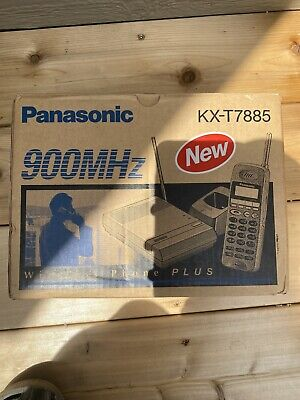 Panasonic Kx-t7885 Wireless Multi-line Phone With Caller Id