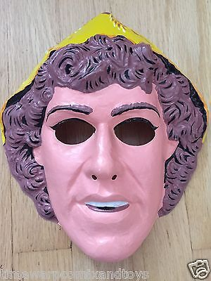 1981 PARAMOUNT PICTURES DRAGONSLAYER MOVIE HALLOWEEN MASK COLLEGEVILLE COSTUME!! - Halloween 1981 Mask
