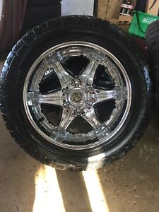 "20"" tis rims and tires"