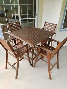 Berkeley High Table and Chairs