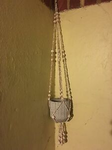 Hanging planter shell macrame Perth Perth City Area Preview