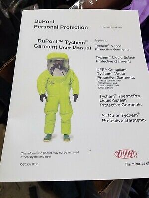 Dupont Qc120byl3x001200 Collared Chemical Resistant Coveralls 3xl Yellow