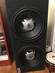 Dual 12 jbl subs with enclosure