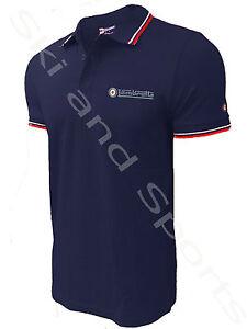Lambretta Polo Shirt Tee T-Shirt Clothing Top Mod Mens Tipped  Plain New Carnaby