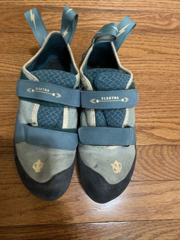 Evolv Electra Rock Climbing Shoes TRAX Rubber Womens US 9.5