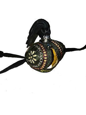 Cappuccio Arabo Falconeria Mano Ricamato,Lavorazione Artigianale Manuale