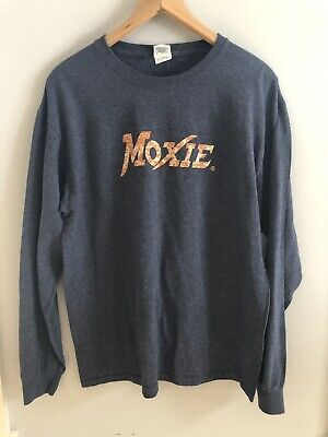 Moxie Distinctively Different Long Sleeved T Shirt Sz L