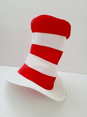 Costumes USA Dr. Seuss Cat in the Hat Top Hat for Kids, Halloween Costume One