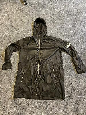 STONE ISLAND SHADOW PROJECT LUCID NYLON PACKABLE RAINCOAT LIAM GALLAGHER LGE