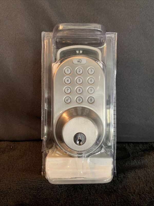MiLocks DF-02SN Electronic Keyless Entry Touchpad Deadbolt Door Lock - Touchpad