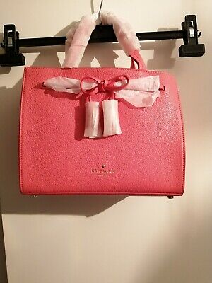 Ladies Kate Spade Designer Bag Pink Genuine New.. Must buy its a bargain